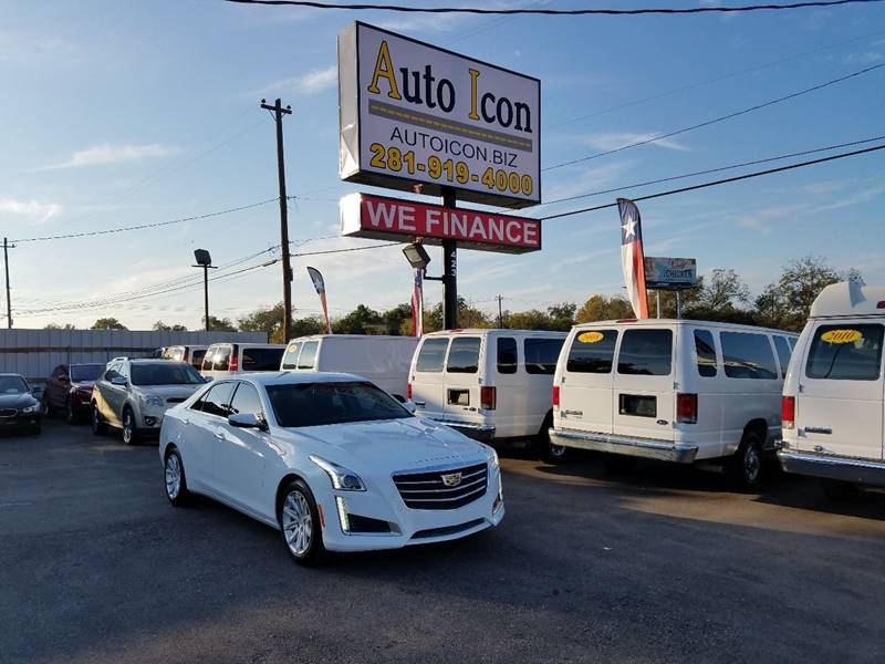 2015 Cadillac Cts 2 0t In Houston Tx Auto Icon