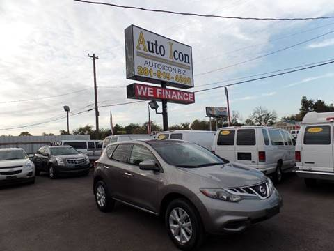 2011 Nissan Murano for sale in Houston, TX
