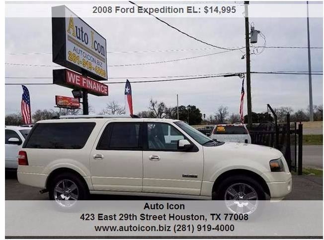 Ford Expedition El For Sale At Auto Icon In Houston Tx