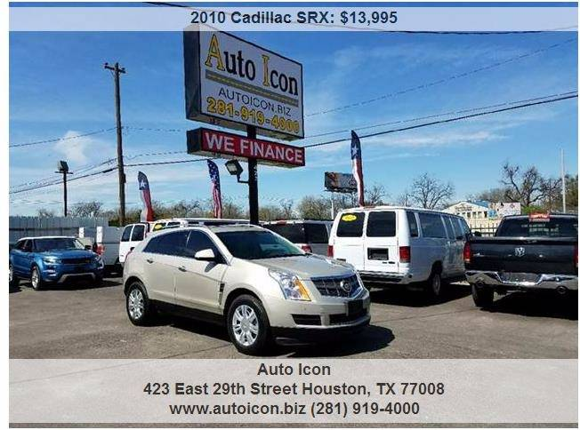 houston inventory collection at dealership for in srx cadillac auto sale tx luxury details icon