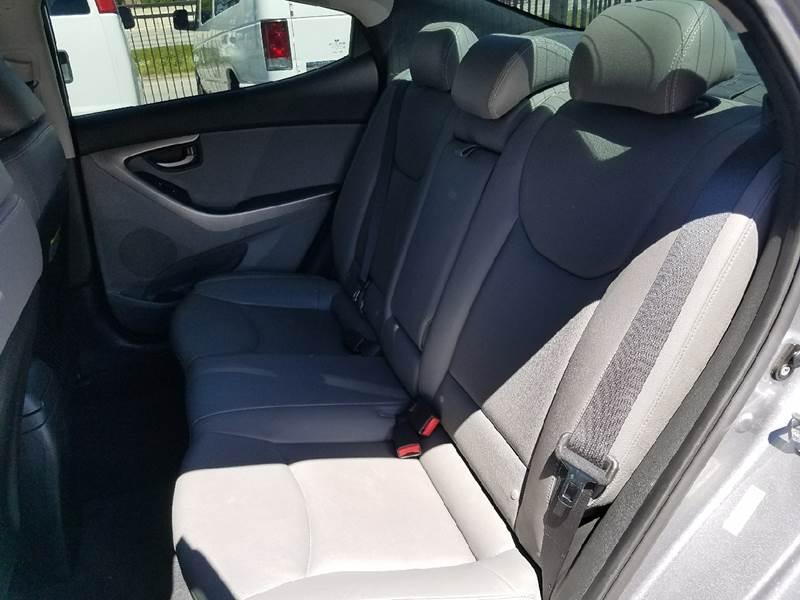 2013 Hyundai Elantra Limited 4dr Sedan - Houston TX