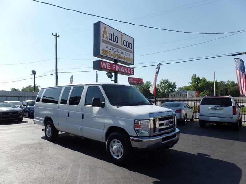 2014 Ford E-Series Wagon E-350 SD XLT 3dr Extended Passenger Van - Houston TX