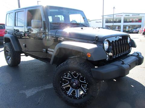 2017 Jeep Wrangler Unlimited for sale in Mount Vernon, IL
