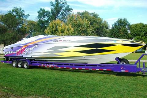 1997 Baja 42 Pace Boat - Triples for sale at Toy Flip LLC in Cascade IA