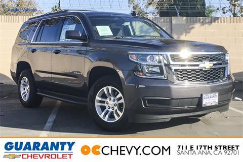 2015 Chevrolet Tahoe for sale in Santa Ana, CA