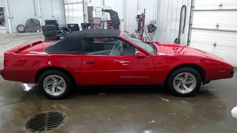1989 Pontiac Firebird for sale in Shelby, MI