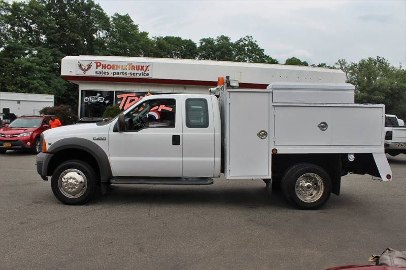 906392831 2005 ford f 450 super duty xl extended cab utility v10 gas * manual