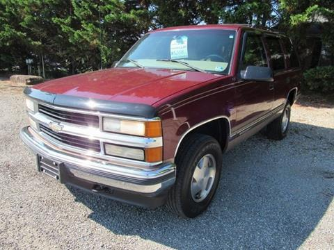 1998 Chevrolet Tahoe for sale in Rocky Mount, VA