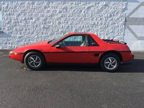 1986 Pontiac Fiero for sale in Frankfort, IL