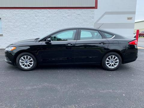 2017 Ford Fusion for sale at Ryan Motors in Frankfort IL