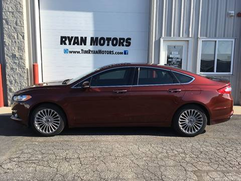 2016 Ford Fusion for sale in Frankfort, IL