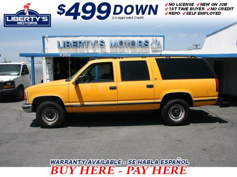 1999 GMC Suburban for sale in Montclair, CA