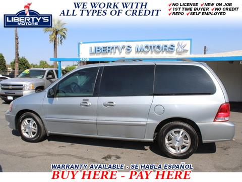 2007 Ford Freestar for sale in Montclair, CA