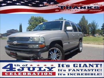 2004 Chevrolet Tahoe for sale in Manteca, CA