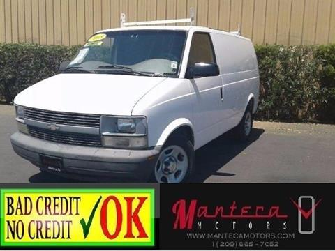 2005 Chevrolet Astro Cargo for sale in Manteca, CA