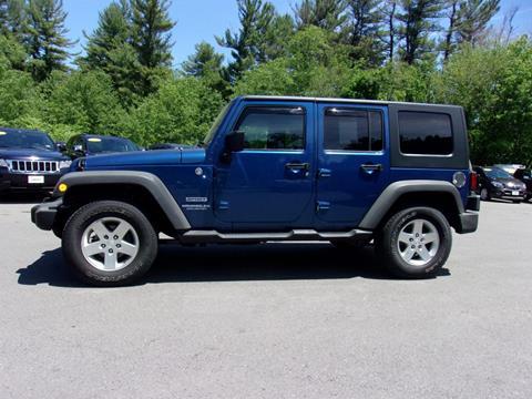 2010 Jeep Wrangler Unlimited for sale in Londonderry, NH