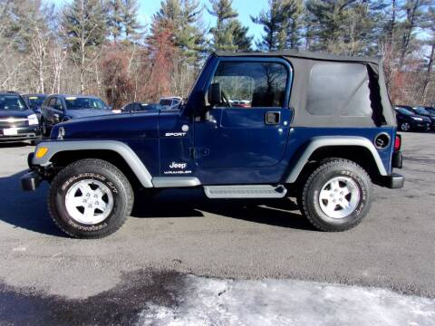 2004 Jeep Wrangler for sale in Londonderry, NH