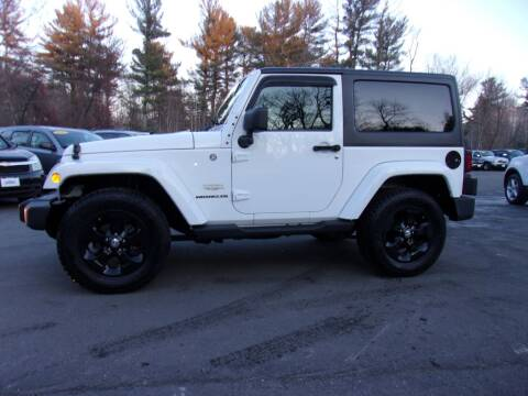 2013 Jeep Wrangler for sale in Londonderry, NH