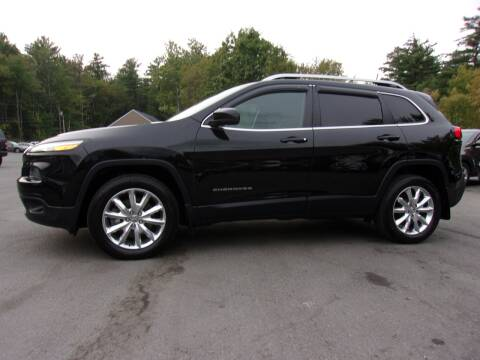 2017 Jeep Cherokee for sale at Mark's Discount Truck & Auto Sales in Londonderry NH
