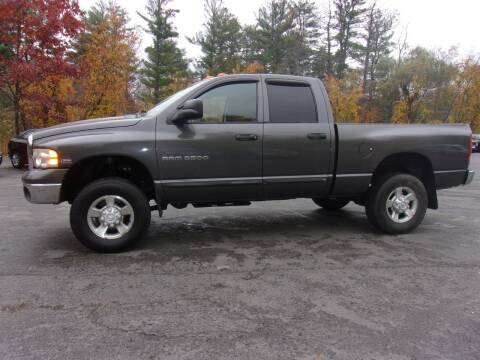2004 Dodge Ram Pickup 2500 for sale at Mark's Discount Truck & Auto Sales in Londonderry NH