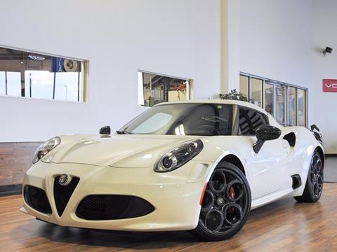 2015 Alfa Romeo 4C for sale in Fort Wayne, IN
