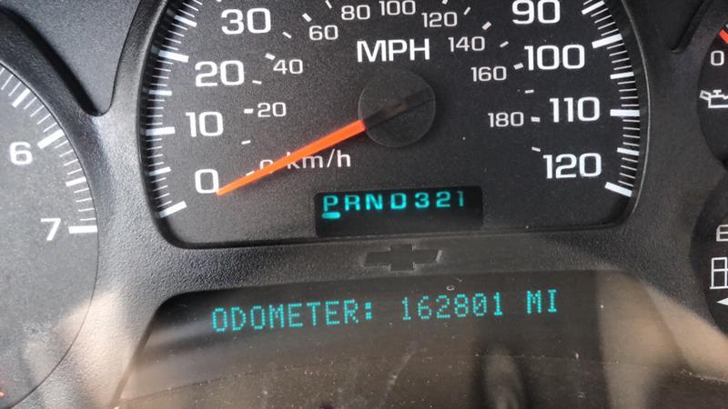 05 chevy trailblazer speedometer not working