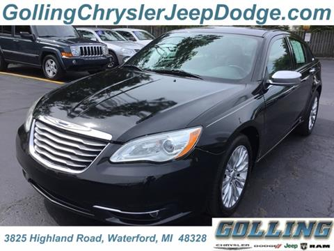 2011 Chrysler 200 for sale in Waterford, MI