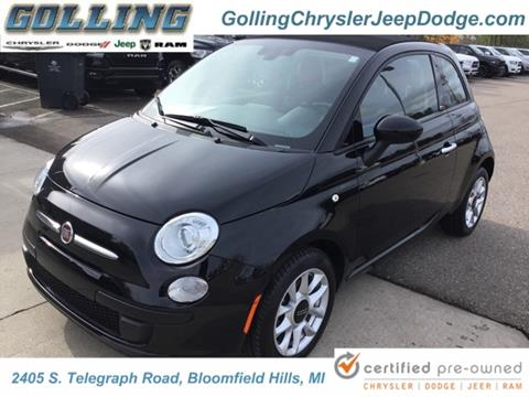 2017 FIAT 500c for sale in Waterford, MI
