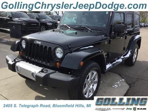 2013 Jeep Wrangler Unlimited for sale in Waterford, MI