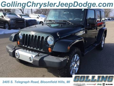 2012 Jeep Wrangler Unlimited for sale at Golling Auto Group in Waterford MI