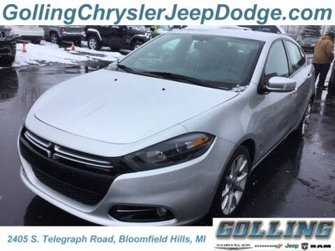 2013 Dodge Dart for sale at Golling Auto Group in Waterford MI