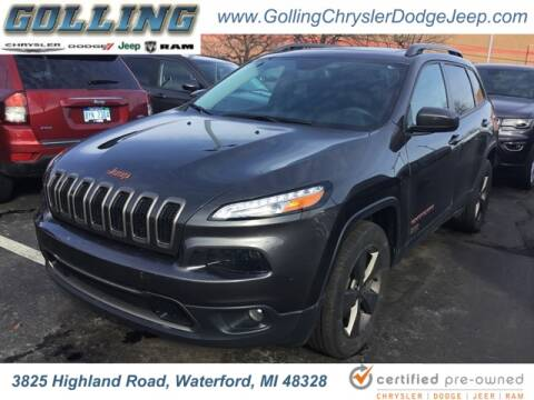 2017 Jeep Cherokee for sale at Golling Auto Group in Waterford MI