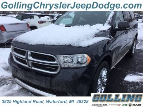 2011 Dodge Durango Crew for sale at Golling Auto Group in Waterford MI