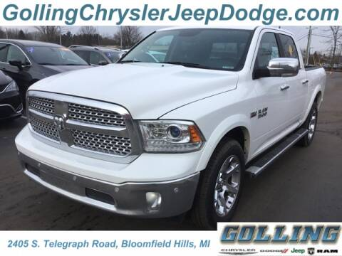 2017 RAM Ram Pickup 1500 Laramie for sale at Golling Auto Group in Waterford MI