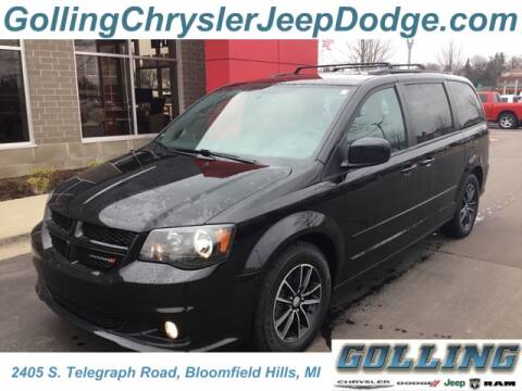 2017 Dodge Grand Caravan GT for sale at Golling Auto Group in Waterford MI