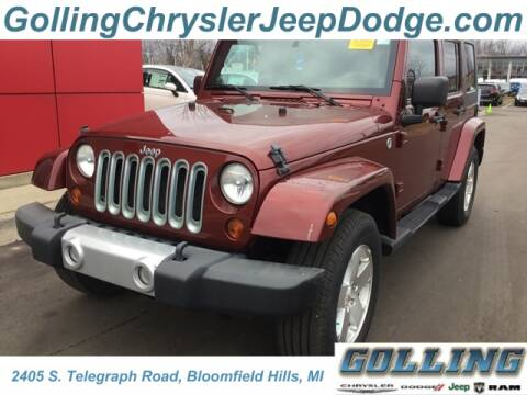 2009 Jeep Wrangler Unlimited Sahara for sale at Golling Auto Group in Waterford MI