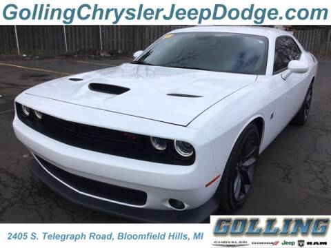 2019 Dodge Challenger R/T Scat Pack for sale at Golling Auto Group in Waterford MI