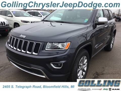 2015 Jeep Grand Cherokee Limited for sale at Golling Auto Group in Waterford MI
