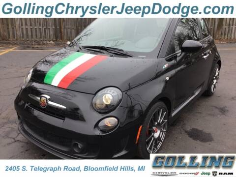 2017 FIAT 500 Abarth for sale at Golling Auto Group in Waterford MI