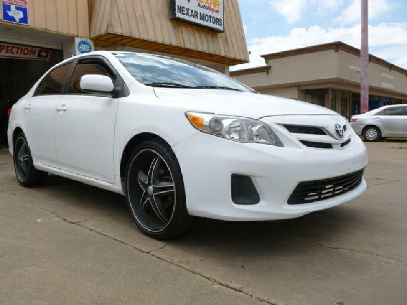 2012 Toyota Corolla LE 4dr Sedan 4A - Houston TX