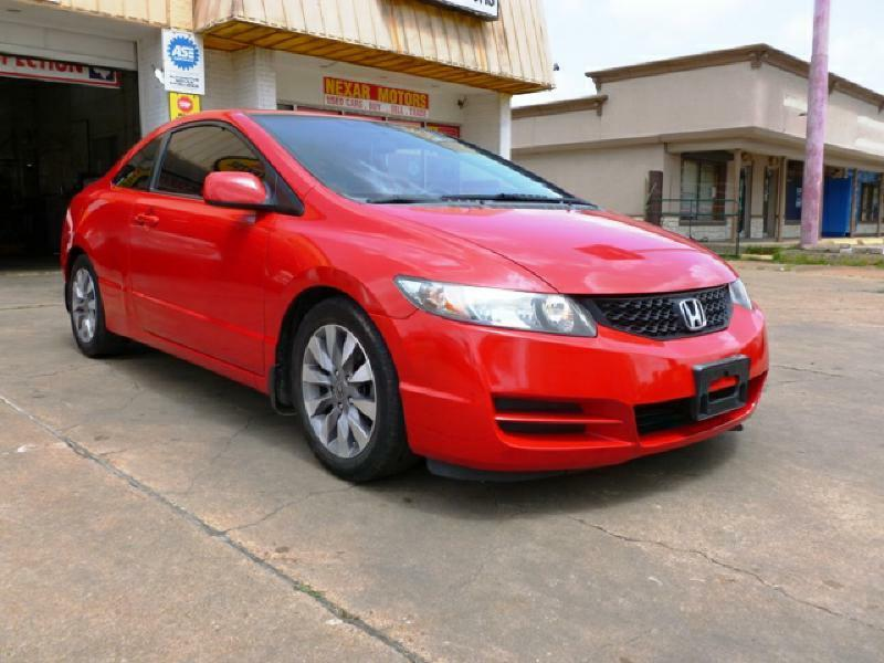 2009 Honda Civic EX 2dr Coupe 5A - Houston TX