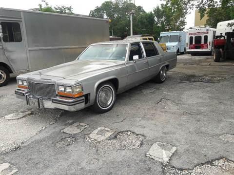 1988 Cadillac Brougham for sale in Miami, FL