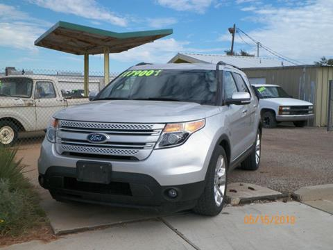 2013 Ford Explorer for sale at Gloe Auto Sales in Lubbock TX