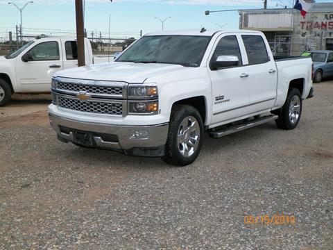 2014 Chevrolet Silverado 1500 for sale at Gloe Auto Sales in Lubbock TX