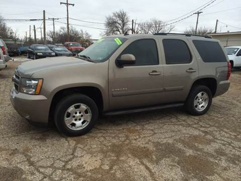 2007 Chevrolet Tahoe for sale at Gloe Auto Sales in Lubbock TX