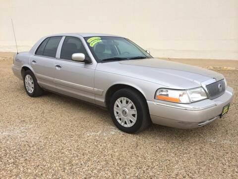 2005 Mercury Grand Marquis for sale at Gloe Auto Sales in Lubbock TX