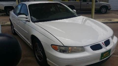 2003 Pontiac Grand Prix for sale at Gloe Auto Sales in Lubbock TX