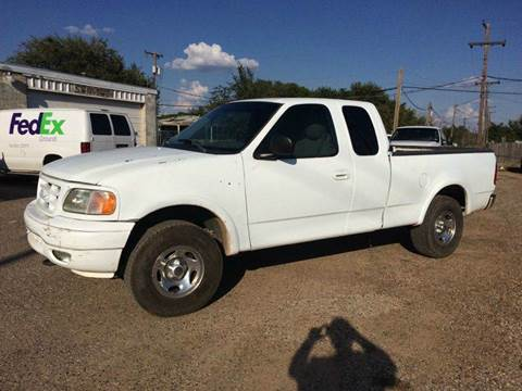 2001 Ford F-150 for sale at Gloe Auto Sales in Lubbock TX