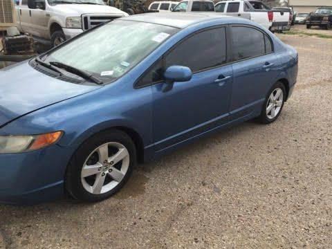 2006 Honda Civic for sale at Gloe Auto Sales in Lubbock TX