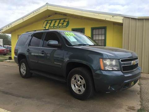 2008 Chevrolet Tahoe for sale at Gloe Auto Sales in Lubbock TX